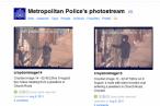 Londons politi bruger sociale medier til at identificere uromagere