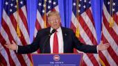 Den kommende amerikanske præsident Donald Trump har afvist beskyldningerne mod ham som »FAKE NEWS« og en »TOTAL HEKSEJAGT«.