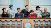 Den kongelige familie til Folketingets åbning.