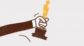 Oscarprisen hænger som en skygge over Ruben Östlund. Den er den anerkendelse, han mangler at få. Nu er han nomineret for 'The Square'. Men kan han vinde? Passer filmen til tidsånden? I anledning af prisuddelingen næste søndag fortæller en enerådig instruktør, hovedrolleindehaveren Claes Bang og en række Oscar-eksperter om, hvordan man satser hele butikken og vinder filmverdenens største pris, når det er et fåtal af dem, der stemmer, der overhovedet har set filmene