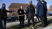 Lars Løkke og syv andre ministre præsenterede i går i Møljnerparken regeringens ghettopakke.