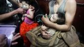 USA, Frankrig, Storbritannien og nødhjælpsorganisationer i Douma, herunder De Hvide Hjelme, har anklaget Assads regime for at stå bag det kemiske angreb i Douma.
