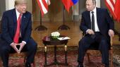 »Præsident Putin var ekstremt stærk og kraftfuld i sin benægtelse i dag,« udtalte Trump om Putin ved pressemødet til topmødet i Helsinki, da han blev spurgt til spørgsmålet om udenlandsk påvirkning af præsidentvalget i 2016.