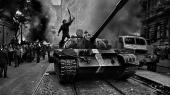 »Vi har vundet en stor moralsk sejr. Russerne kom med tanks. Czekiske mænd og kvinder frygtede dem ikke,« sagde løbelegenden Zapotek til Informations udsendte under protesterne i Prag.