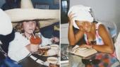 Private feriebilleder fra Helle Skovmoses barndom. I dag er hun 35 år og udviklingskonsulent ved Højskolerne.