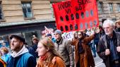 I weekenden demonstrerede beboere fra almene boliger i København mod regeringens ghettopakke, der støttes af SF og Socialdemokratiet.