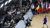 Theresa Mays »kropssprog var positivt« under topmødet i Bruxelles, bemærkede formanden for Europa-Parlamentet, Antonio Tajani. Men indholdet i det, hun sagde, var ... »velkendt«.