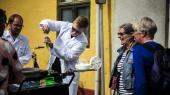 Aalborg Universitet underholder med videnskab på Folkemødet. I Aalborg er bæredygtig bioteknologi blandt de syv uddannelser, som bliver lukket.