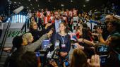 Polske skoleelever strejkede under COP 24 i Katowice, inspireret af svenske Greta Thunberg.