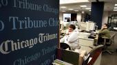 Redaktionen på Chicago Tribune i 2000.