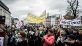 Amnesty International udsendte i denne uge en rapport, der kritiserer den danske voldtægtslovgivning og domspraksis. Rapporten angribes hårdt i det juridiske fagmiljø. Det samme gør ngo'ens kampagne for at få samtykkekriteriet ind i lovgivningen. Her fra Amnestys demonstration for samtykkelovgivning tidligere på året.