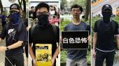 De demonstrerer i Hongkong for frihed, men pessimismen er udtalt.På billedet ses Chan, Lee, Vincent og Jason.