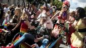 Priden, som den har taget sig ud i København de senere år. Den gamle ledelse i LGBT Danmark er blevet beskyldt for ikke at følge med tiden.
