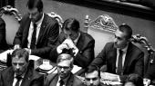 I det italienske senat, hvor premierminister Giuseppe Conte i tirsdags annoncerede sin afgang.