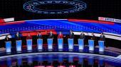 CNN vil onsdag aften arrangere et klimaforum med de demokratiske præsidentkandidater - et format som flere klimaorganisationer har kritiseret. Her ses en tv-debat med de demokratiske præsidentkandidater fra d. 30. juli 2019.