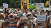 'Black Lives Matter'-demonstration i Brooklyn, New York. Kan litteraturen hjælpe os til at forstå racisme i dag?