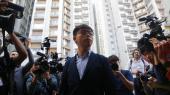 23-årige Wong Lee, der blev en ikonisk modstandsleder under Paraplybevægelsens demonstrationer i 2014 og allerede har været tre gange i fængsel, siger til The Guardian, at han »ikke har andet valg« end at blive ved. Arkivfoto.