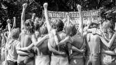 Kvindefestival i Fælledparken. Den oprindelige kvindekamp for økonomisk, juridisk, social og seksuel ligestilling for alle er blevet spaltet i fraktioner, mener kronikøren.