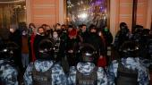Politistyrker sat ind mod Navalnyj-støtter i Moskva. Dimitri Titkov tror ikke, det er nok at vælte Putin.