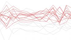 Databloggen har indsamlet varmestatistikker fra 1880 til i dag, og tallene fra det seneste årti sender grafen helt op i det røde felt. 2014 topper listen, da jordens gennemsnitstemperatur blev den højest målte i 135 år
