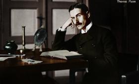 Den tyske forfatter Thomas Mann kaldte romanen ' Doktor Faustus' sin vildeste roman.