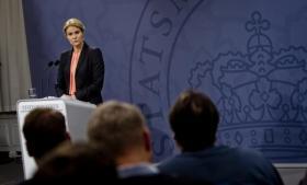 Statsminister Helle Thorning-Schmidt (S) afviste mandag at kommentere på et eventuelt samarbejde mellem Danmark og USA's efterretningstjenester. Ifølge ny læk deler Danmark dog aktivt efterretninger med det amerikanske efterretningsagentur NSA. Foto: Katrine Emilie Andersen