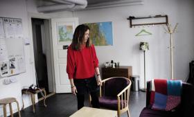 Susannah L. Sønderlund er leder af Kompasset, der er Kirkens Korshærs værested, som rådgiver hjemløse immigranter.
