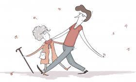 Kvinderne ville ikke nøjes med en eller anden gammel mand – eller bare en på deres egen alder. Skulle der være ligestilling, så skulle der vel være ligestilling