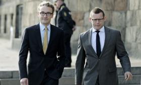 Liberal Alliances Ole Birk Olesen og Joachim B. Olsen.