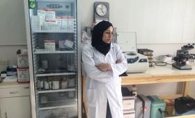 Haifaa Awad har planlagt at være frivillig læge i det krigsramte Syrien i tre uger, men efter kun én uge bevirker de truende islamistiske oprøreres adfærd, at hun gør sig sine overvejelser. Privatfoto