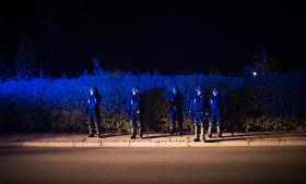Politiet anslår, at der de seneste døgn er kommet over 1.000 primært syriske flygtninge til Danmark