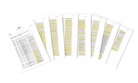 Finansministeriet mørklagde i november 2014 hele 134 dokumenter i en enkelt sag om aktindsigt med henvisning til den omdiskuterede paragraf 24 om ministerbetjening. Det var en journalist på Jyllands-Posten, der havde søgt om aktindsigt i korrespondance mellem Finansministeriet, Udviklingsministeriet og Justitsministeriet om b.la. skøn over udgifter til asylansøgere i Danmark.
