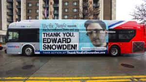 Aktivister har købt reklameplads på en bybus i Washington D.C. Nu ser det ud til, at aktivisterne også får medhold i retten   Foto: Scanpix