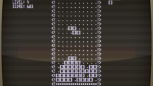 Det første Tetris-spil programmeret i 1984 af hackerenAleksej Pajitnov
