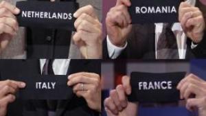 Holland, Frankrig, Italien og Rumænien!?