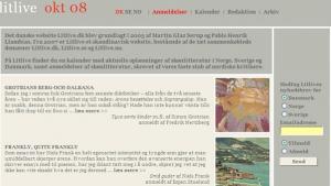Litlive, det nordiske netmagasin for litteratur, fejrer 60-nummerjubilæum, hurra! Jubilæumsnummeret indeholder rigtig gode anmeldelser, men er desværre en lidt ujævn omgang