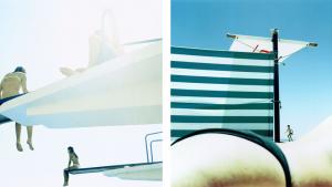 Untitled #7 og Untitled #12. Fra serien The Pool © Karine Laval