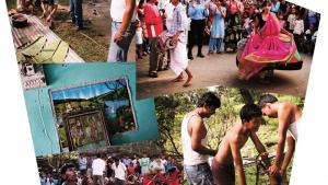I det nepalesiske fladland huserer en gruppe bønder med politisk teater, der lokker landsbypublikummet til selv at finde - og gennemspille - løsningerne på deres lokale konflikter