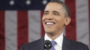 Barack Obama har besluttet, at han vil vælges igen, lyder en cheføkonoms lakoniske vurdering af præsidentens håbefulde forudsigelse for amerikansk økonomi i 'State of the Union'-talen, som Obama leverede tirsdag.