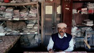 'Bihar, India', 2003, fra serien 'Bureaucratics' © Jan Banning