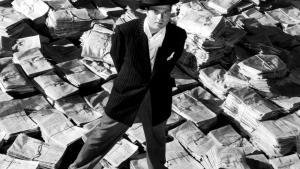Orson Welles' sort/hvide debutfilm er en strukturelt og visuelt opfindsom og både humoristisk og dramatisk skildring af et ensomt menneskes besatte jagt på anerkendelse og kærlighed