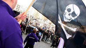 Pirate Bay, Piratpartiet og nu også trossamfundet Det Missionerande Kopimistsamfundet. Sverige er fildelernes højborg.