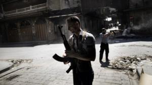 »Kære arabere, hvis I havde vovet at protestere mod Bashar på samme måde som I nu gør mod de amerikanske ambassader, ville Bashar ikke have været i stand til at dræbe 200 syrere om dagen.« Syriske oprørere undrer sig