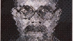 'Selvportræt' på Louisiana viser bl.a. fantastiske Chuck Close-værker, både før og efter han blev lam. Selvportræt I, 1995. Olie på lærred.