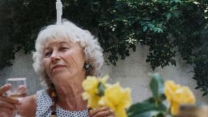 Bornholmeren. Anna Margrethe Andersen var skrap og livsglad gennem alle sine 94 år. Privatfoto