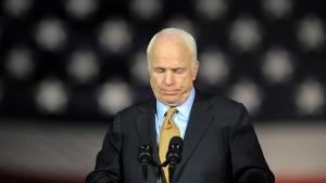 Den republikanske tidligere præsidentkandidat John McCain.