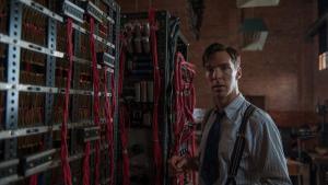 Benedict Cumberbatch spiller rollen som den engelske matematiker Alan Turing (1912-1954) i 'The Imitation Game'.