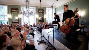 Henschel Kvartetten på Hindsgavl Festival.