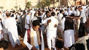 Både Libyens befolkning og EU håber på et ja til fredsplanen.