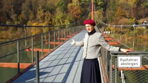 Broen over grænsen til Bayern i et ubevogtet øjeblik